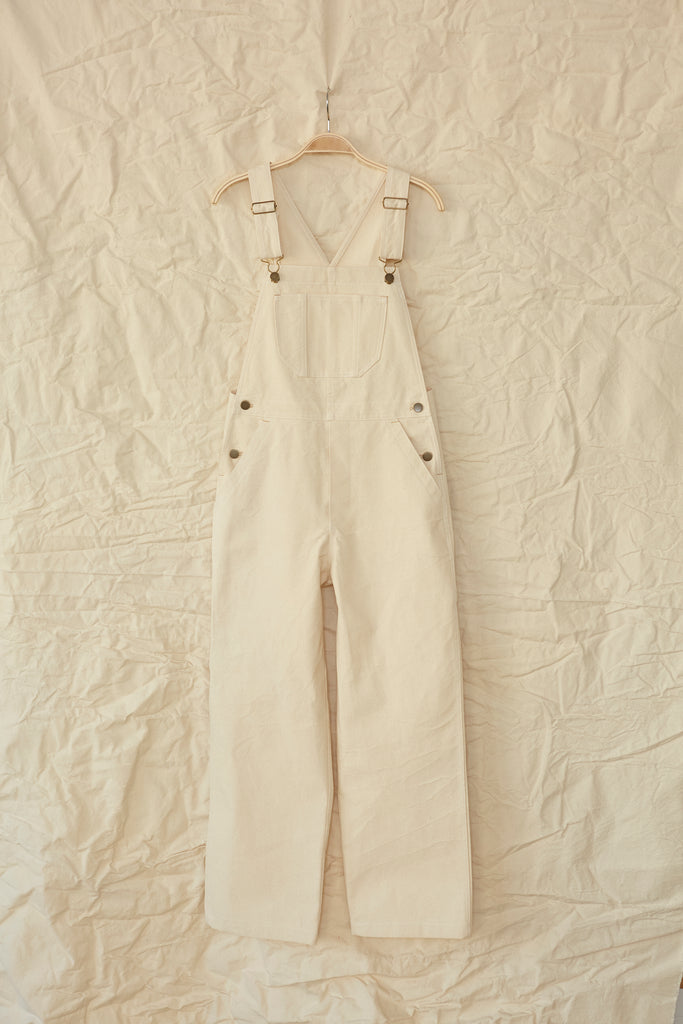 Sierra Overall- Natural Canvas