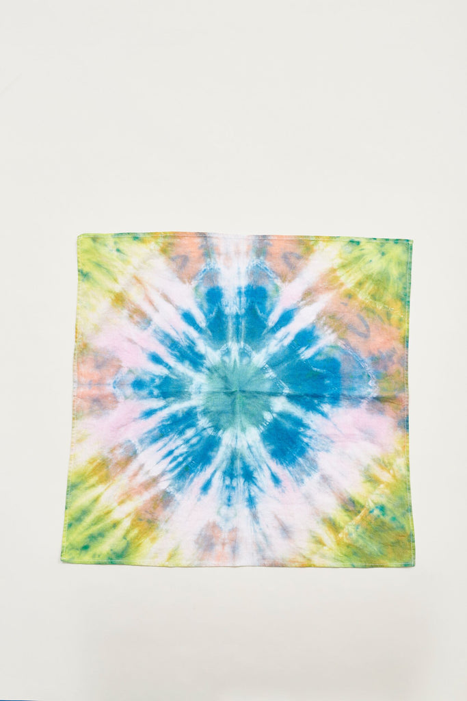 Linen Hand Tie Dyed Scarves