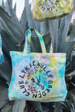 Garden Club Large Tote Bag -Rainbow Bliss