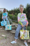 Garden Club Large Tote Bag -Rose Garden