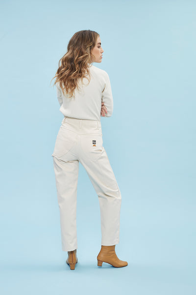 Montaña Painter Pant - Cream Canvas