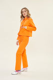 Shrunken Ranch Jacket -Safety Orange Canvas