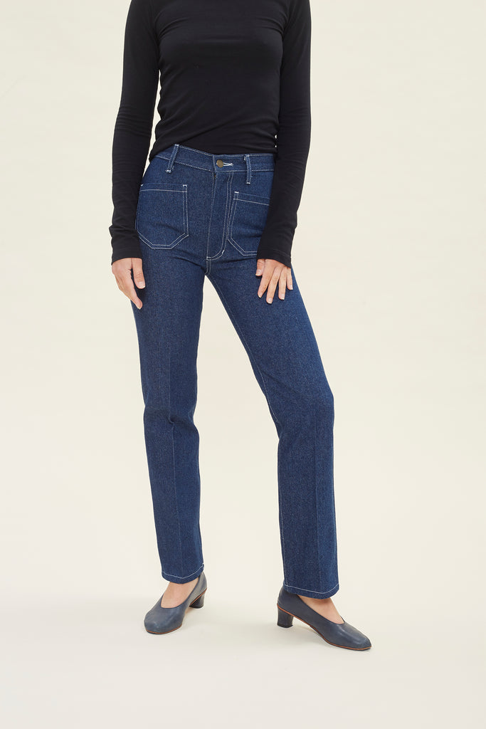 Perfected Ranch Pant -Cowboy Denim