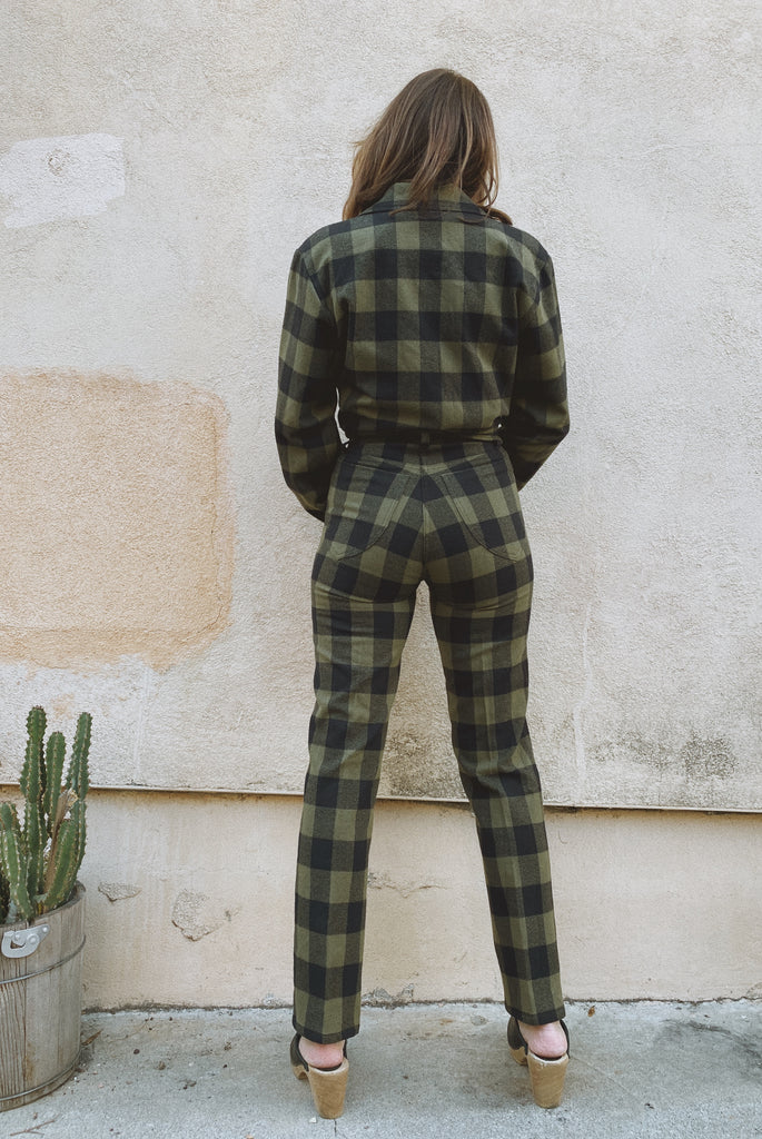 Perfected Ranch Pant - Humboldt Plaid