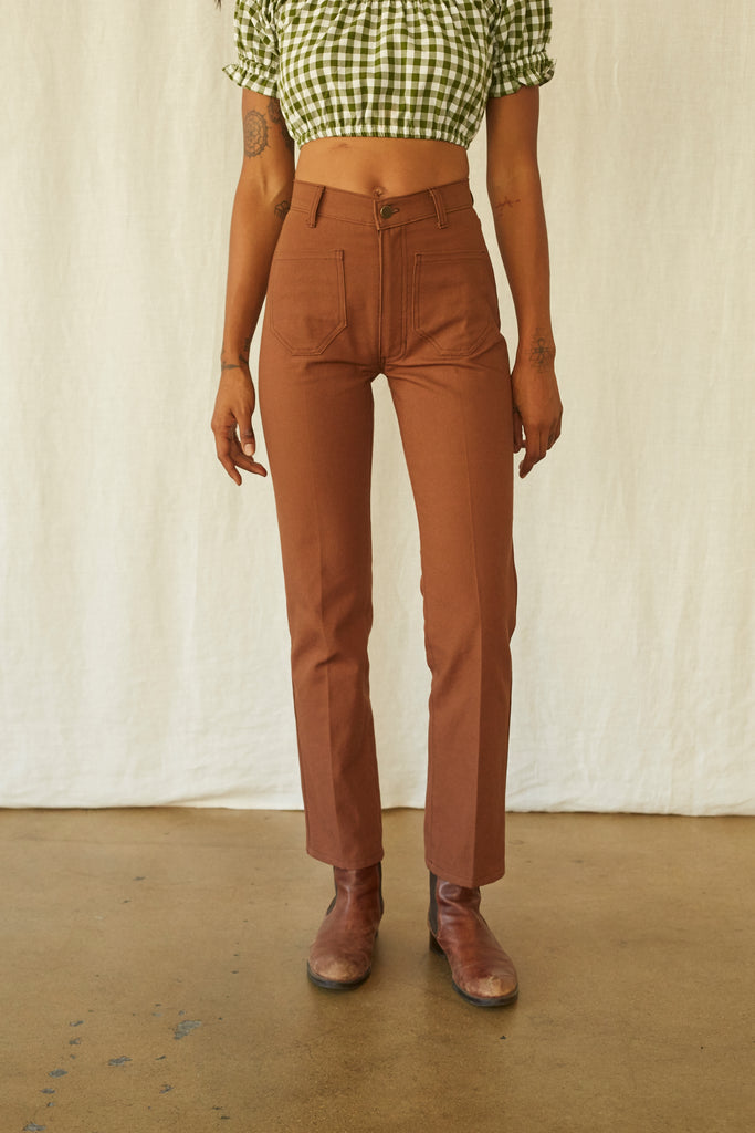 Perfected Ranch Pant - Nutmeg Canvas