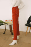 Red Twill Ranch Pant