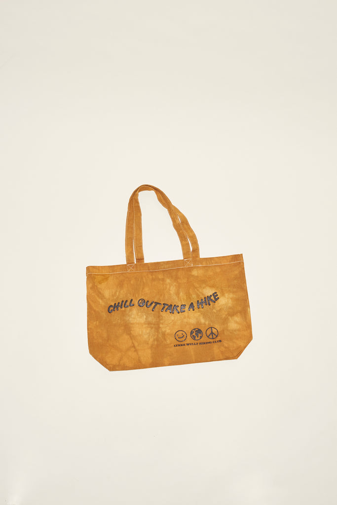 LW Hike Club Tote Bag- Hand Dyed