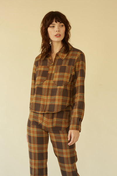 Forest Jacket- Big Sur Plaid
