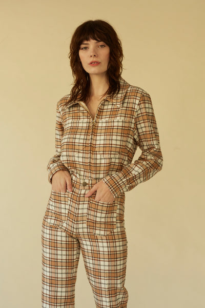 Forest Jacket- Pismo Plaid