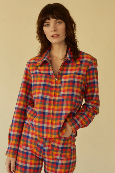 Forest Jacket- Bolinas Plaid