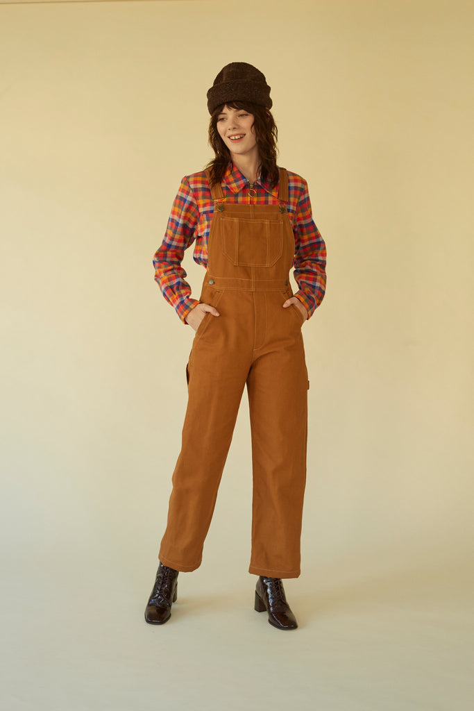 Sierra Overall- Honey Canvas
