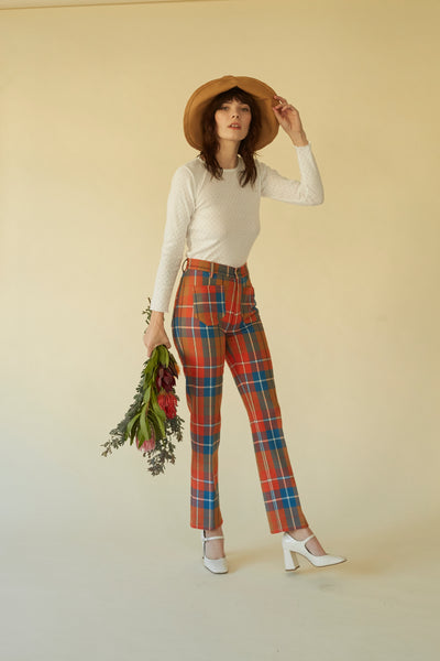 Perfected Ranch Pant - Monterey Plaid