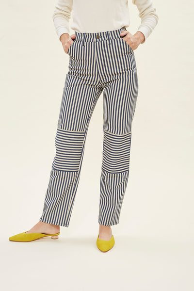 Muir Workwear Jean - Stripe Denim