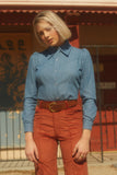 Cowgirl Shirt- Denim (2 colors)
