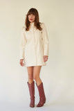 The Cowgirl Dress- Natural Denim