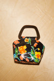 Mini Margot Purse -Black Floral