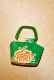 Mini Margot Purse -Green Floral