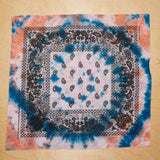 Cotton Hand Tie Dyed Bandana
