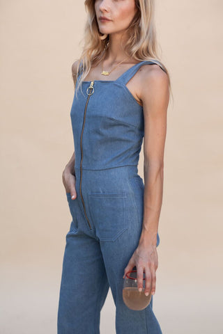 Denim Fibi Jumpsuit