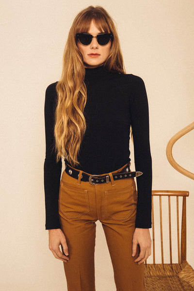 Field Turtleneck - Black