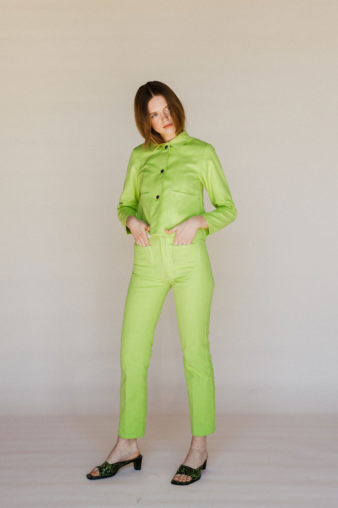 Perfected Ranch Pant - Chartreuse