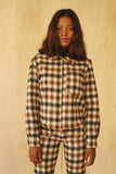 Forest Jacket- Cream Plaid