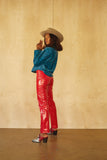 Perfected Ranch Pant -Red Slicker