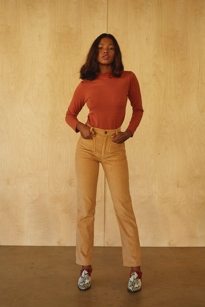 Perfected Ranch Pant -Tan Cord
