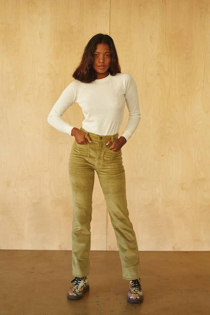 Perfected Ranch Pant -Winter Sage