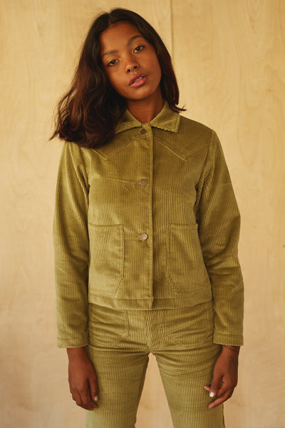 Shrunken Ranch Jacket -Winter Sage