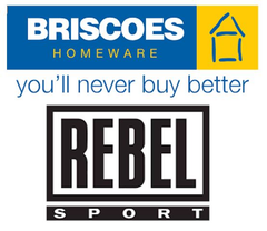 Briscoes/Rebel Excluded Products