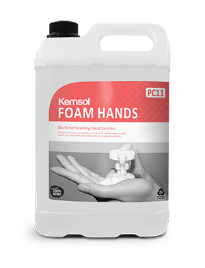 Kemsol Foam Hands Sanitiser