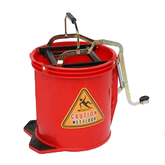 Filta Plastic Foot Operated Wringer Bucket