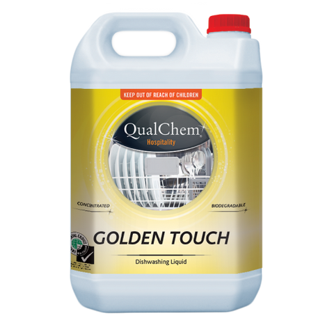 Qualchem Golden Touch Manual Dishwash