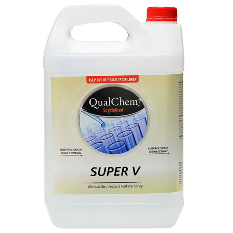 QualChem Super V Hospital Grade Disinfectant