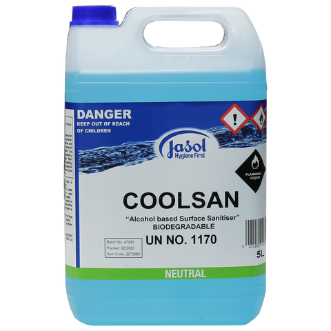 Jasol Coolsan Hand Sanitiser Liquid