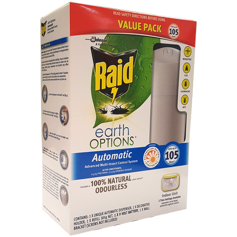 Raid Auto Insect Killer Value Pack