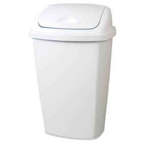 Sterilite Swing Top Tidy Bin - 50L