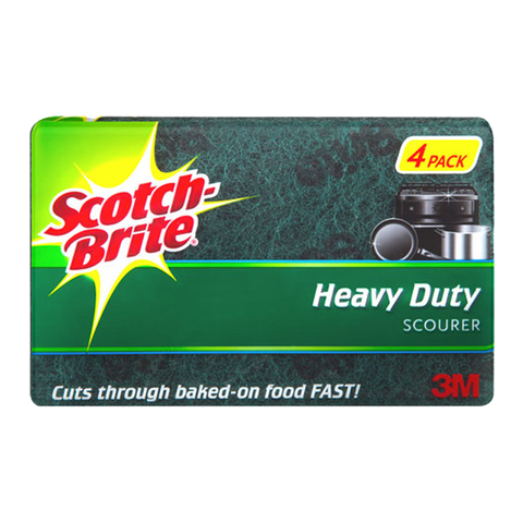 Scotchbrite Scourer - 4Pk