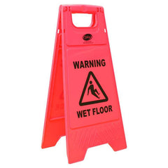 Floor Signs - Wet Floor Pink