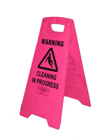 Floor Signs - C in P Pink