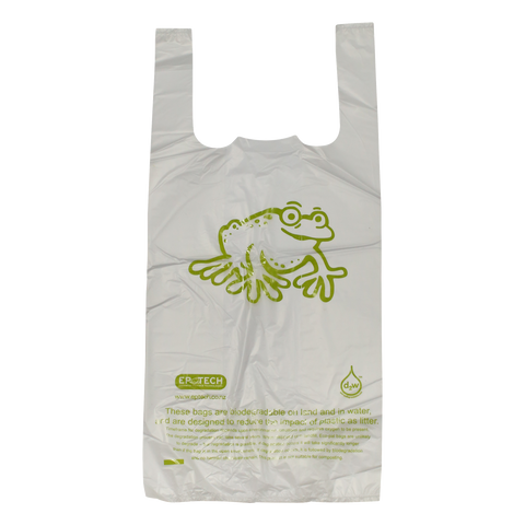 Degradable Singlet Bag - Small