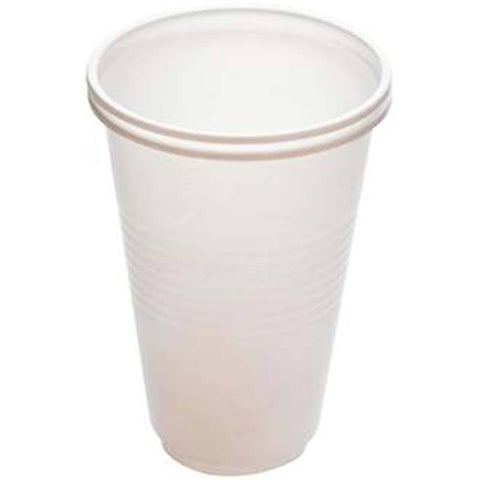 White Polystyrene Cups 200ml
