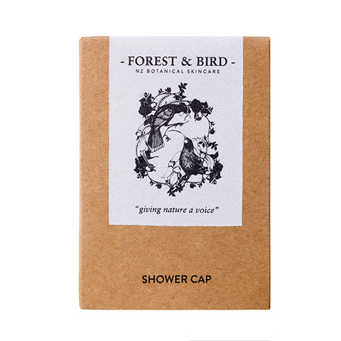 Forest & Bird Shower Cap