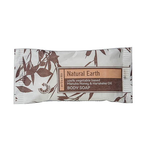 Natural Earth Wrapped Soap