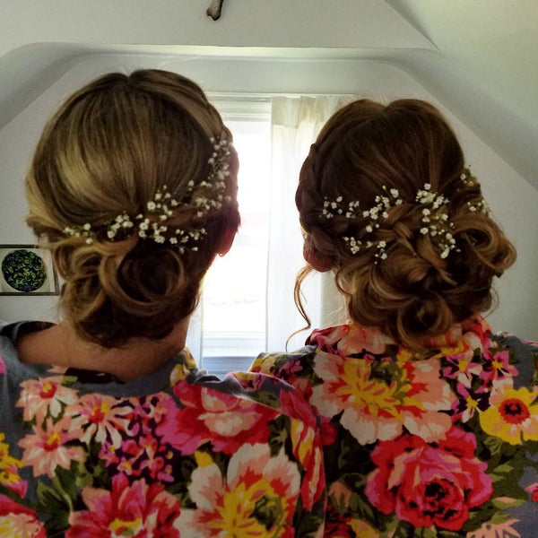 Bridesmaid Summer Hairstyle Ideas from Instagram