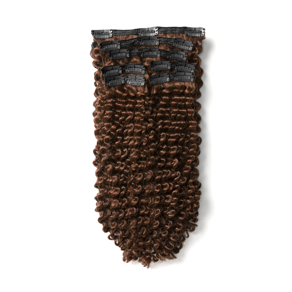 "KUMARI ROYALE Kinky Curl 160G 20"" Dark Brown (2)"