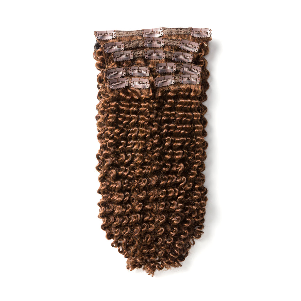 "KUMARI ROYALE Kinky Curl 160G 20"" Chocolate Brown (4)"