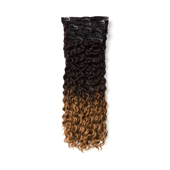 "KUMARI ROYALE Kinky Curl 160G 20"" Ombre Off Black/Chestnut Brown (1B/6)"