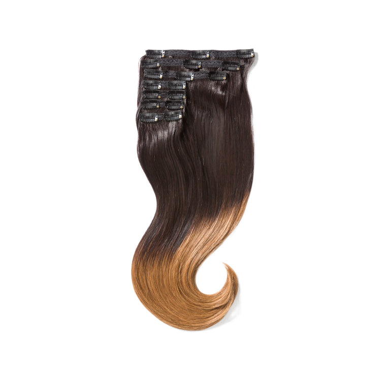 "KUMARI GODDESS 200G 20"" Ombre Off Black/Chestnut Brown (1B/6)"
